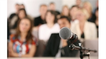 Speak up! How public speaking can help your design business
